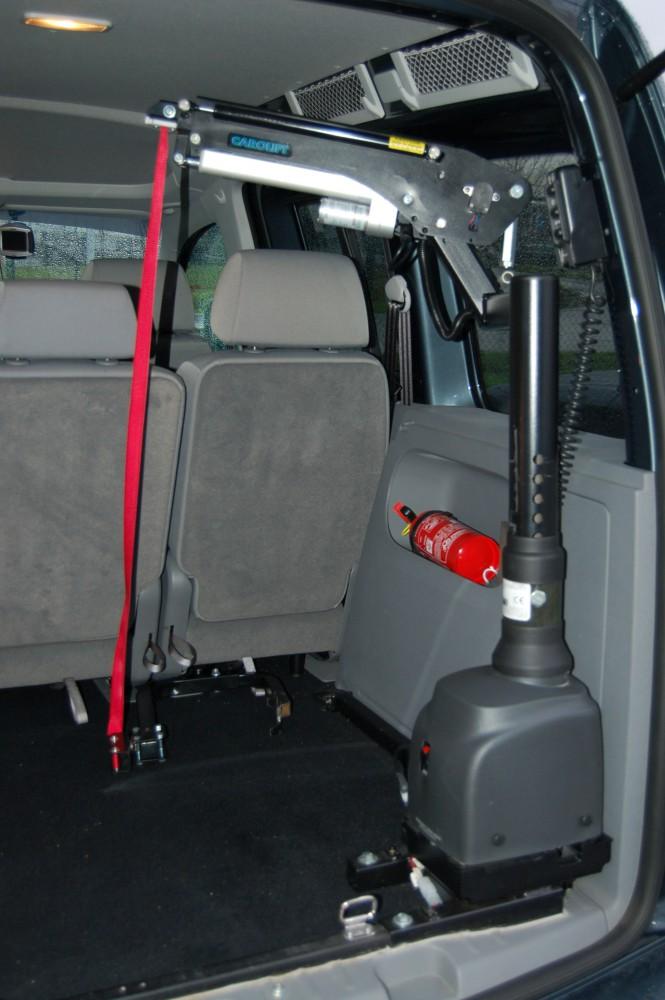 el 233 vateur pour chaise roulante coffre carolift 6900 mees mobility center